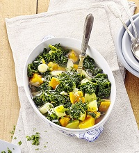 Winterly stew with kale
