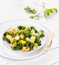 Kale salad with