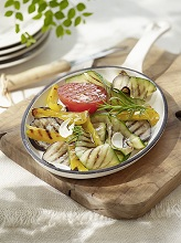 Grilled rosemary vegetables