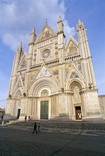 Orvieto Cathedral, Orvieto, Umbria, Italy, Europe
