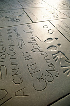 Mann's Chinese theatre, Hollywood, Los Angeles, California, United States of America, North America