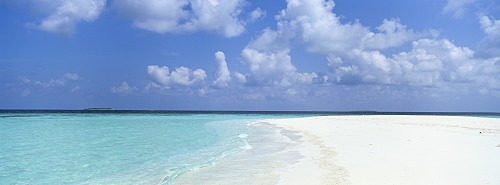 Sandbar, Baa Atoll, Maldives, Indian Ocean, Asia
