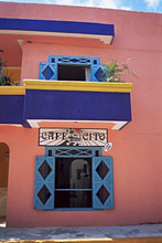 Cafe, Isla Mujeres, Yucatan, Mexico, North America