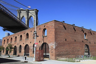 Brooklyn Bridge, DUMBO, Brooklyn, New York City, United States of America, North America