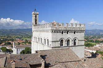 Palace of the Consuls, Gubbio, Umbria, Italy, Europe