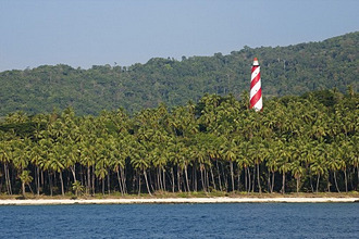lighthouse in middle-Andaman, Andaman Islands, India