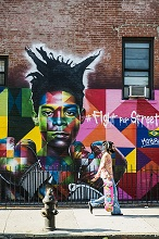 Street Art, Williamsburg, Brooklyn, New York, USA