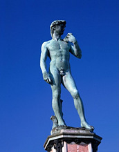 I'' Florence, David-Statue from Michelangelo *** Local Caption *** 01783575