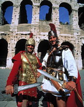 Italy, Roma, Colosseum, man, costume, historically, gladiator *** Local Caption *** 01975978