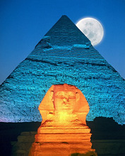 Egypt, Al-Qahirah, Gizeh, sphinx *** Local Caption *** 03170468