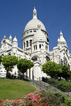 France, Paris, Montmartre, Sacr'-Coeur, parkway *** Local Caption *** 03735980