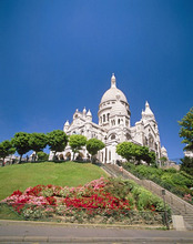 France, Paris, Montmartre, Sacre-Coeur *** Local Caption *** 03739839
