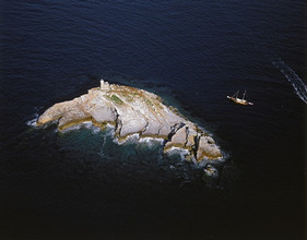 aerial photograph, France, Corsica, Südostspitze *** Local Caption *** 03796784