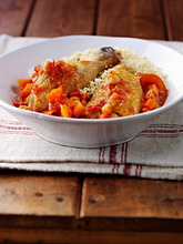 Chicken with couscous