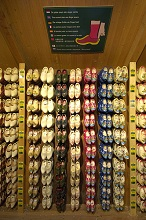 Traditional clogs store, Zaandam, Netherlands, Europe