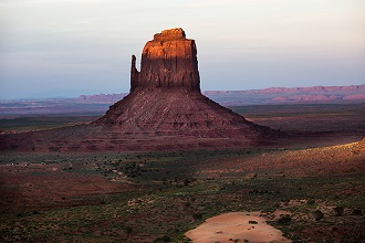USA, Arizona and Utah, Monument Valley Navajo Tribal Park Buttes