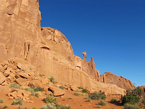 Park Avenue, Arches national park, Utah, United States of America, North America