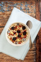 Muesli fruits and cereals