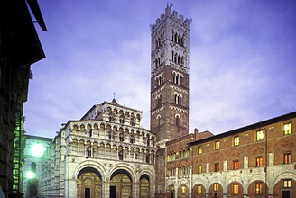 Cathedral, Lucca, Tuscany, Italy