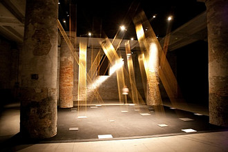 Tteia, work of Lygia Pape, 53rd Biennial Exhibition of Modern Art, Venice, Veneto, Italy