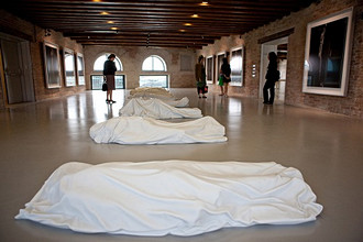 Works of Hiroshi Sugimoto and All of Maurizio Cattelan, 53rd Biennial Exhibition of Modern Art, Venice, Veneto, Italy