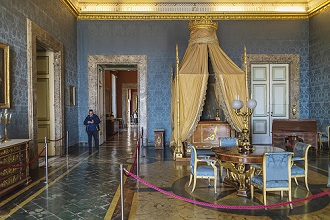 Royal Palace of Caserta, Reggia di Caserta one of the largest royal residences in the world, UNESCO World Heritage Site, Caserta, Campania, Italy