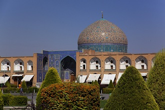 Sheikh Lotf Allah Mosque, Imam Square, Isfahan; Iran, Middle East