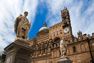 Metropolitan Cathedral of the Assumption of Virgin Mary, Palermo, Sicily, Italy, Europe
