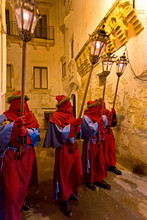 Holy Week, procession, Gallipoli, Apulia, Italy, Europe