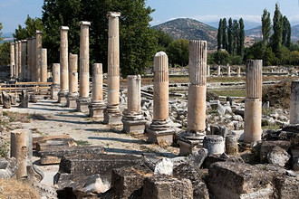 Aphrodisias, archeological site, Turkey, Eurasia