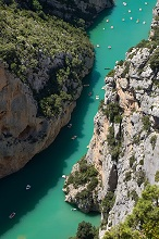 Gorges du Verdon river,Provence-Alpes-Côte d'Azur region,Provence, France, Europe