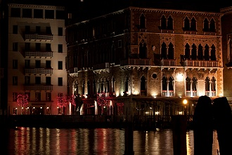 Hotel Bauer, Grand Canal, Venice, Veneto, Italy, Europe
