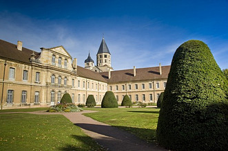 The Benedectine Abbey, Cluny, Bourgogne, Burgundy, France, Europe