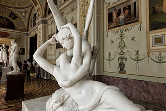 Cupid and Psyche, Hermitage Museum, Saint Petersburg, Russia, Europe