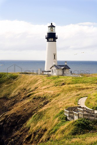 Yaquina Head Lighthouse, Oregon Coast, United States of America (U.S.A.), North America