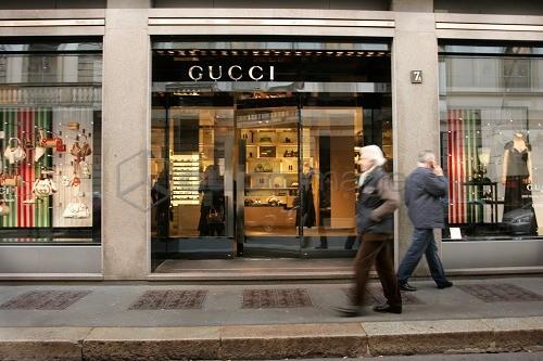 new products 0cb33 a52ab Gucci Store, Fashion district, Via Monte Napoleone street ...