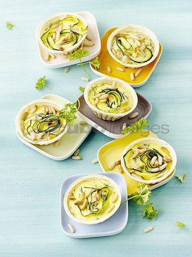 Courgette - tartlets
