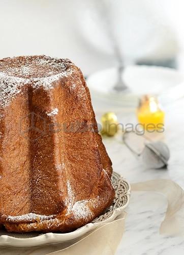 Italian Christmas Cake.Pandoro Italian Christmas Cake Italy Europe Cuboimages