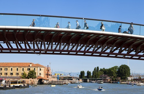 Calatrava bridge, Venice, Veneto, Italy, Europe