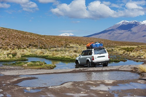 South America, Bolivia, 4wd tour on the altiplano