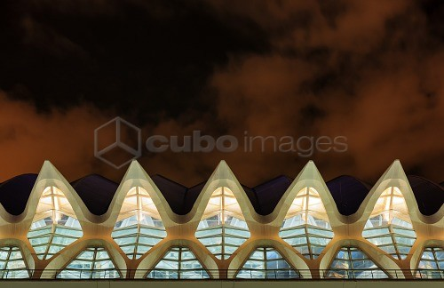 Europe, Spain, Valencia, City of Arts and Sciences, Principe Felipe Science Museum