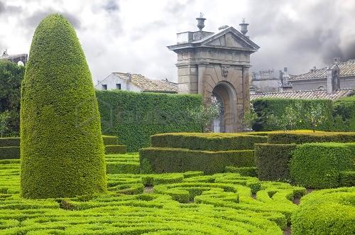 Villa lante bagnaia viterbo toscana il giardino all - Giardino all italiana ...