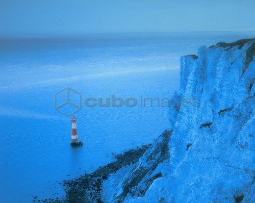 Great Britain, East Sussex, BleachyHead, sea *** Local Caption *** 03427395