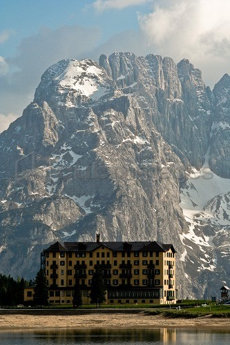 Three peaks of Lavaredo, Tre Cime di Lavaredo, Dolomites mountain, UNESCO, World Heritage Site, Veneto, Italy, Europe