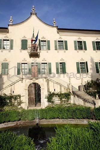 architettura Villa de Mersi a Villazzano di Trento