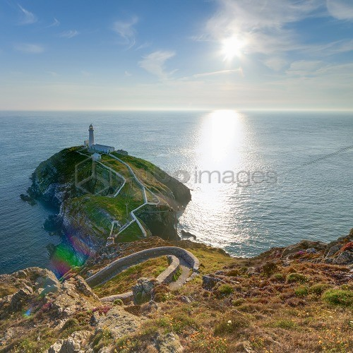 South Stack Lighthouse, Holy Island, Anglesey, Gwynedd, Wales, United Kingdom, Europe