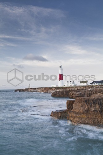 The lighthouse on Portland Bill, Isle of Portland, Jurassic Coast, UNESCO World Heritage Site, Dorset, England, United Kingdom, Europe