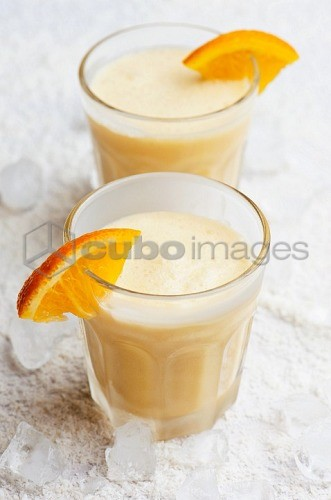 Orange smoothies
