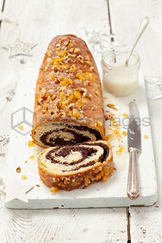 A Polish Christmas poppy seed roulade